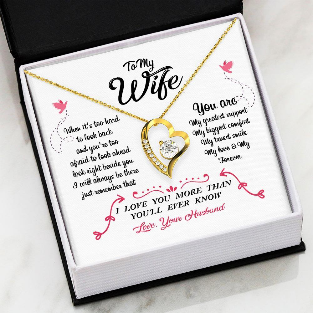 To My Wife - More Than You'll Ever Know - Necklace
