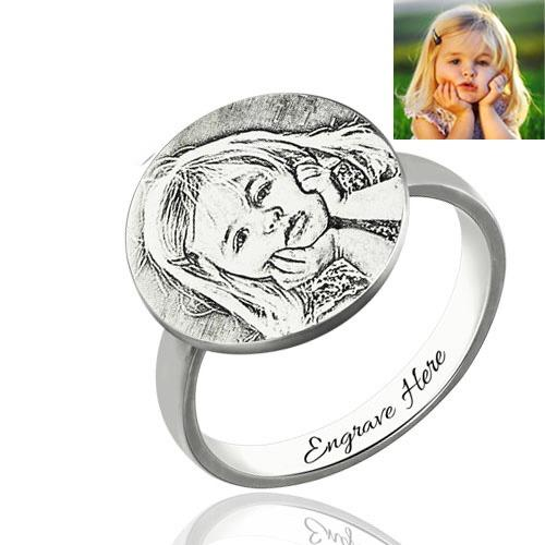 Personalized Photo Rings