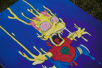 "Canvas ""Drippy Bart Simpson"""
