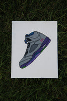 "Canvas Panel ""Air Jordan 5 Bel Air"""