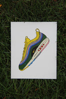 "Canvas Panel ""Air Max 1/90 Sean Wotherspoon"""
