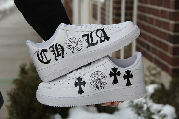 "Air Force 1 ""Chrome Hearts"""