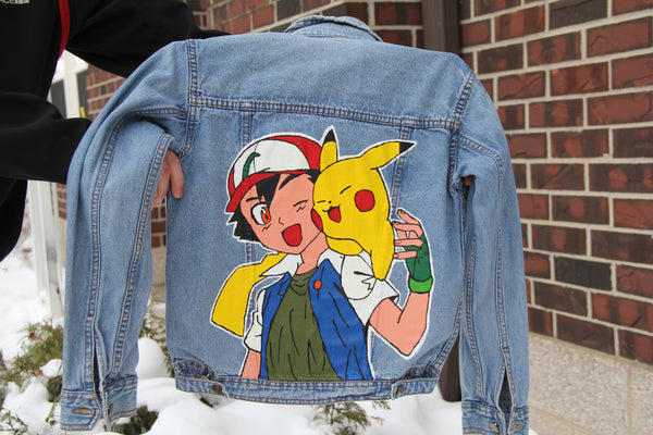 "Jean Jacket ""Pokemon"""