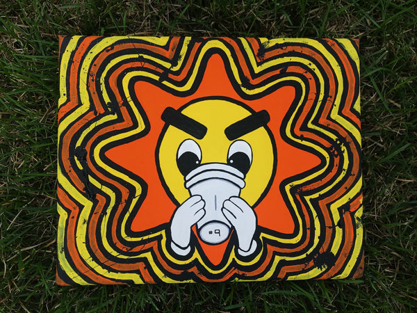 "Canvas Panel ""Glo Gang"""