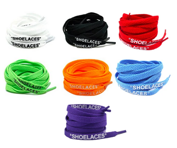 Off-White Shoelaces (7 Colors)