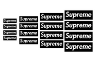 Supreme Box Logo Pack Vinyl Painting Stencil Sheet