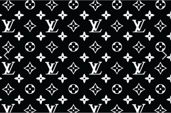 Louis Vuitton Pattern Vinyl Painting Stencil Sheet