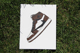 "Canvas Panel ""Air Jordan 1 Travis Scott"""