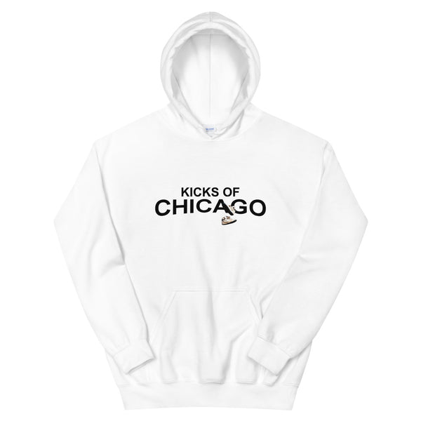 Kicks Of Chicago Hoodie (White)