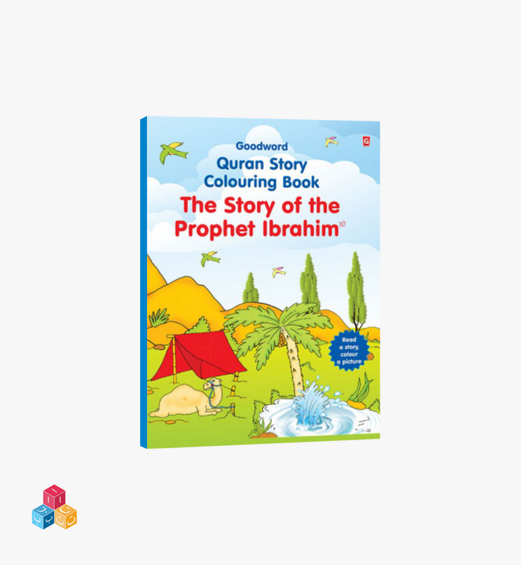 The story of The Prophet Ibrahim (AS) -  Colouring Story Book