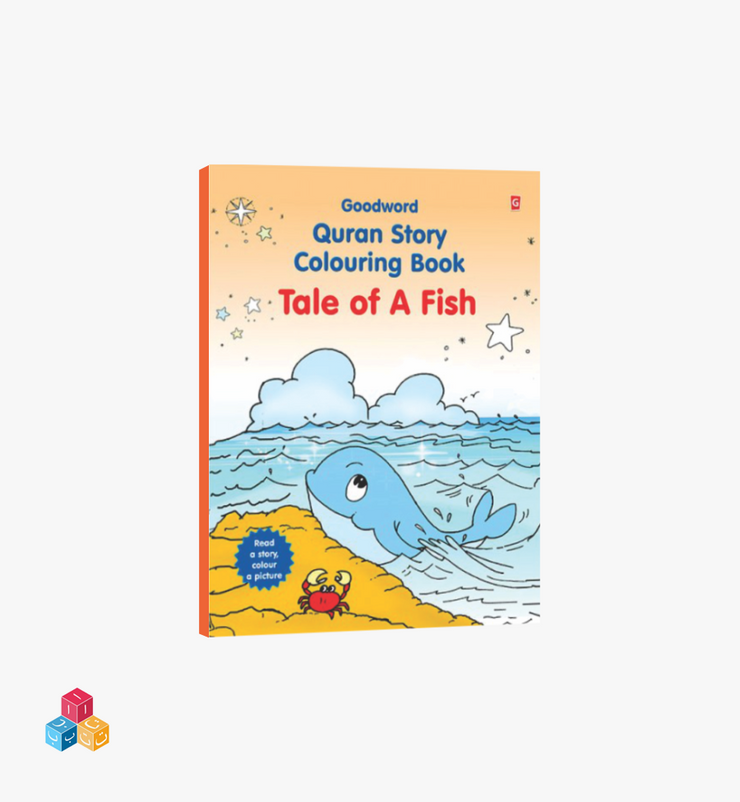 Tale of a fish -  Colouring Story Book