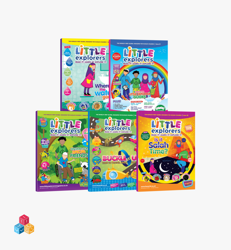 Little Explorers – Read It Bundle!