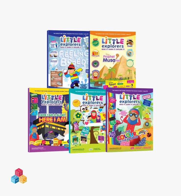 Little Explorers – Learn It Bundle!