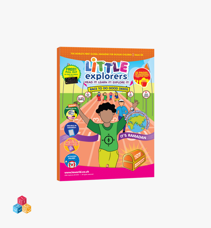 Little Explorers Issue 26 | Race to do good deeds