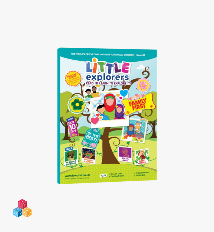 Little Explorers – Issue 32 | Family Tree