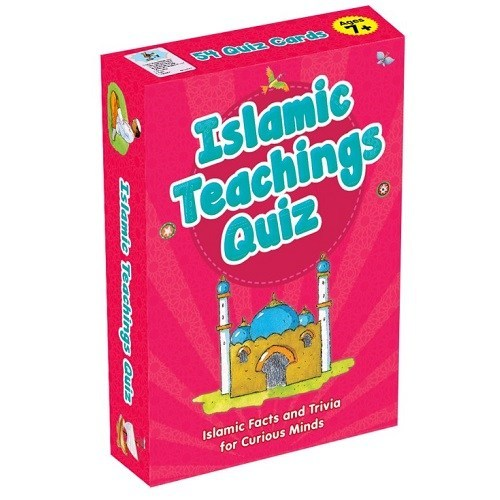 Islamic Teachings Quiz cards
