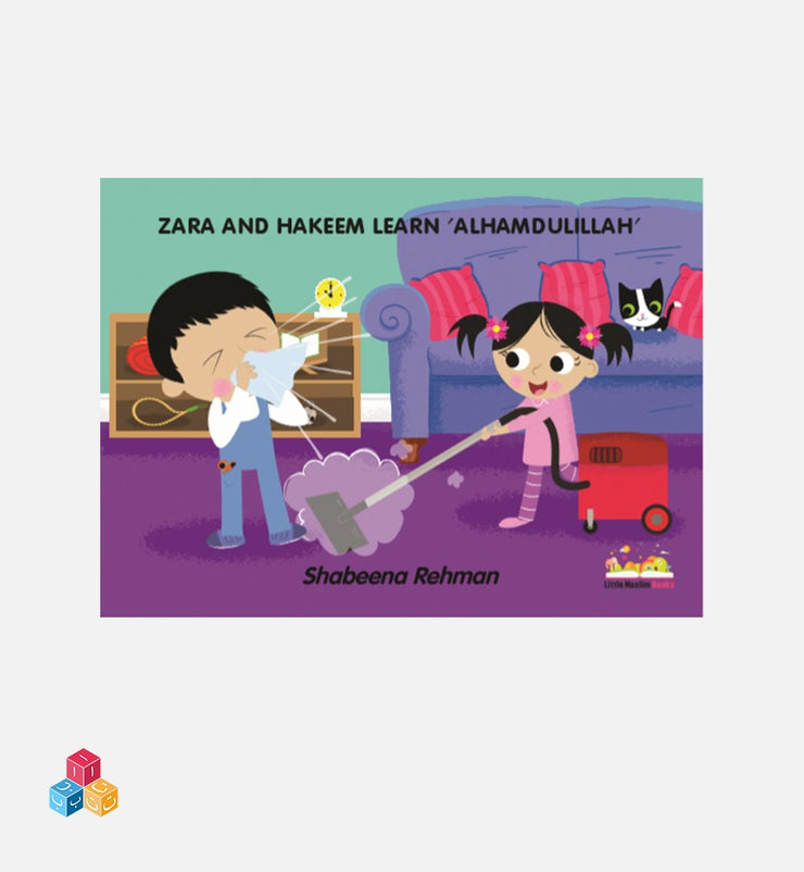 Zara And Hakeem Learn Alhamdulillah