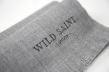 Load image into Gallery viewer, GREY Lightweight 100% Cashmere Scarf