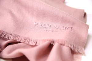 ANTIQUE ROSE Lightweight 100% Cashmere Scarf