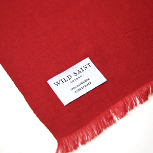 BERRY Lightweight 100% Cashmere Scarf