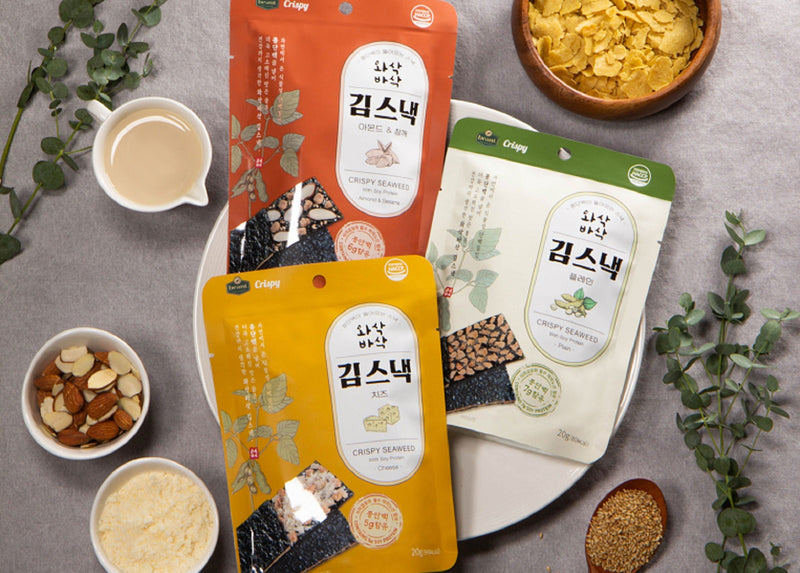 The beant Crispy Seaweed with Soy Protein (Almond & Sesame)