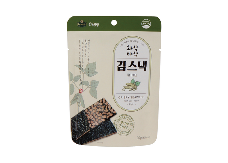 The beant Crispy Seaweed with Soy Protein (Plain)