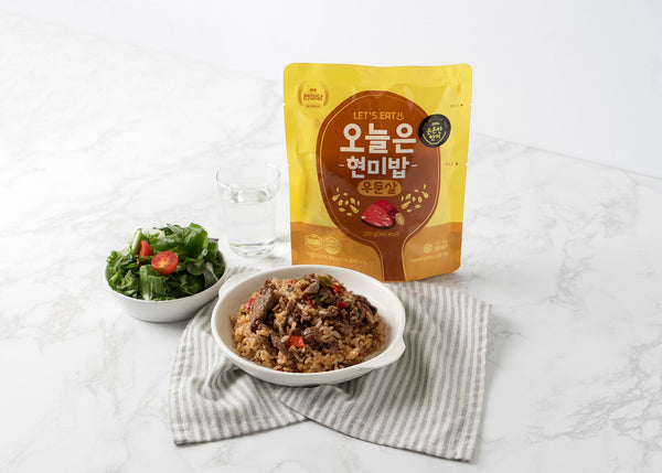 Dashin Korean Instant Brown Rice (Beef Round Steak)