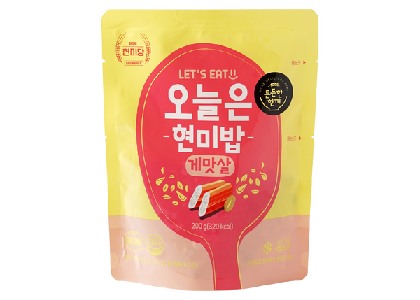Dashin Korean Instant Brown Rice (Crab Stick)