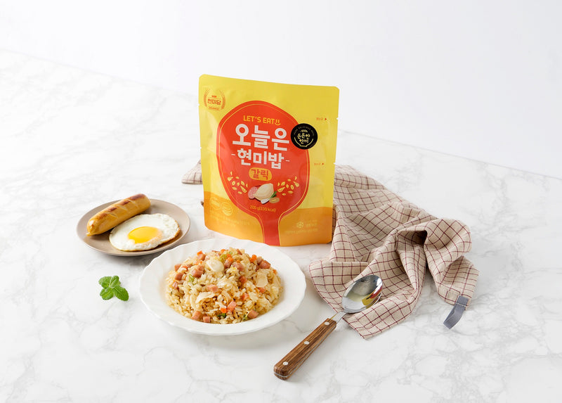 Dashin Korean Instant Brown Rice (Garlic)