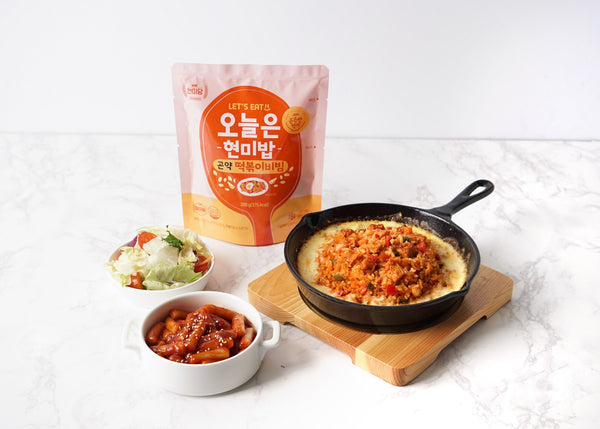 Dashin Korean Instant Brown Rice (Konjac Spicy-fried Rice Cake)