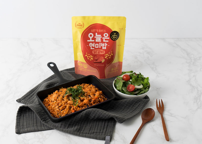 Dashin Korean Instant Brown Rice (Spicy Stir-fried Chicken with Perilla Leaves)