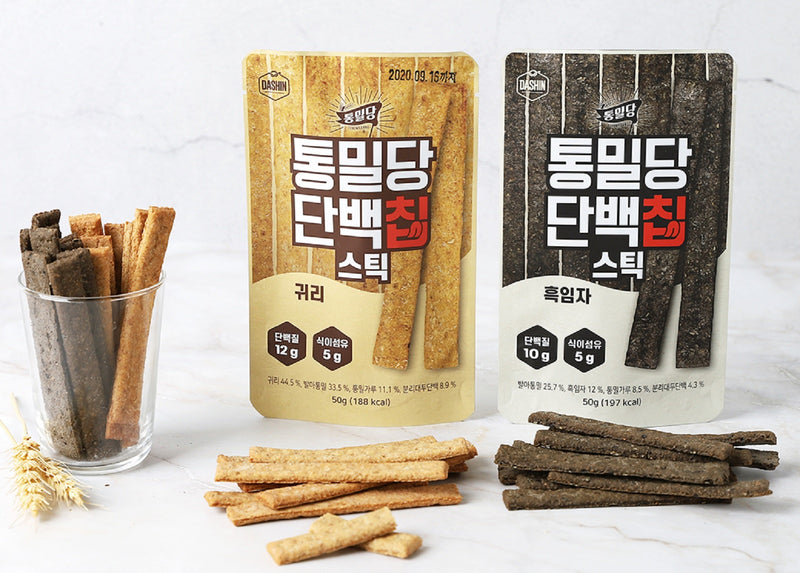 Dashin Whole Wheat & Protein Sticks (Oat)