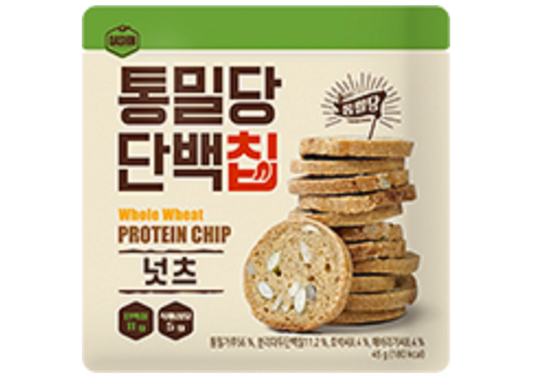 Dashin Whole Wheat & Protein Biscuits (Nuts)