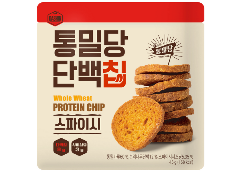 Dashin Whole Wheat & Protein Biscuits (Spicy)