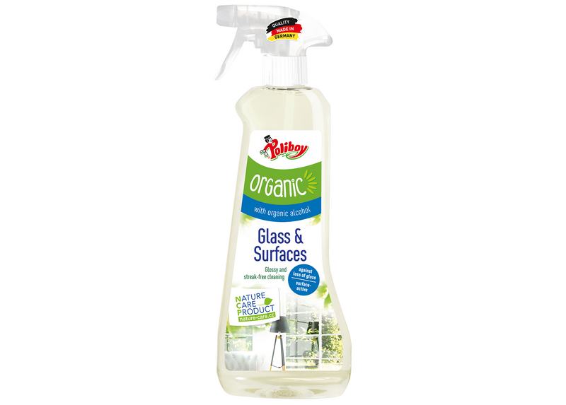 Poliboy Organic Glass & Surfaces Cleaner
