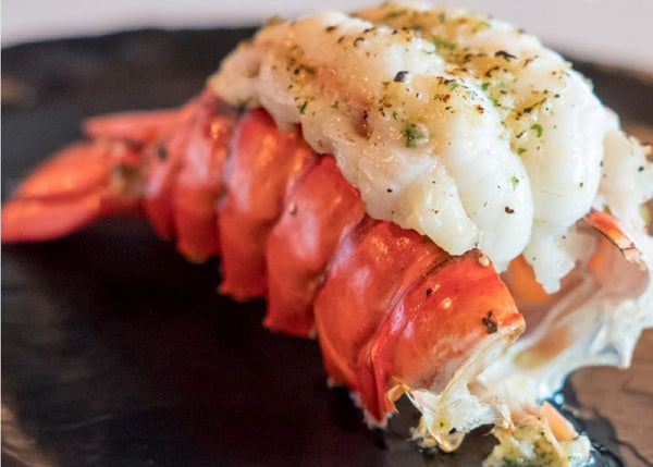 Frozen Raw Caribbean Spiny Lobster Tail (2PCS)