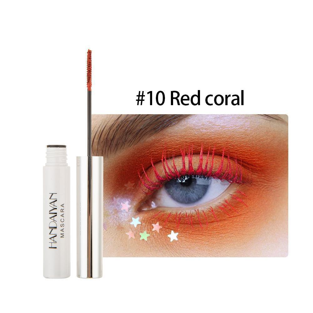12 colors Mascara Thick and Long Curling Waterproof