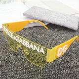 7 Colors Conjoined Lens Rimless Sunglasses