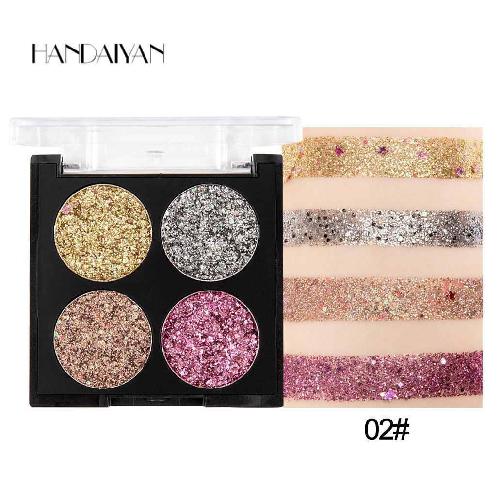 4 Colors Pentagram Fragment Eyeshadow