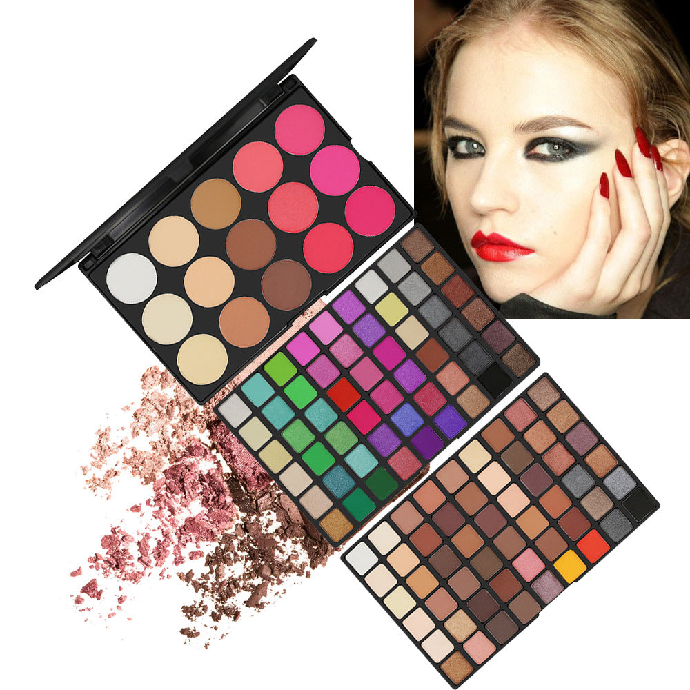 123 color eye shadow palette set 108 color eye shadow + 6 color blush + 9 color highlight