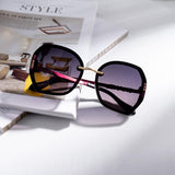 Irregular Shape Sunglasses