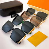 4 Colors Leisure Side Pattern Polarized Sunglasses
