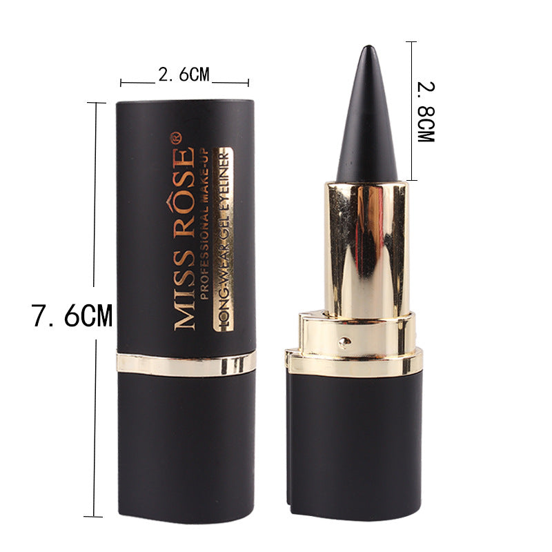 1 Pcs  Makeup Waterproof Black Eyeliner