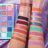 18 Colors Eyeshadow Makeup Palette Stunning Multi-reflective