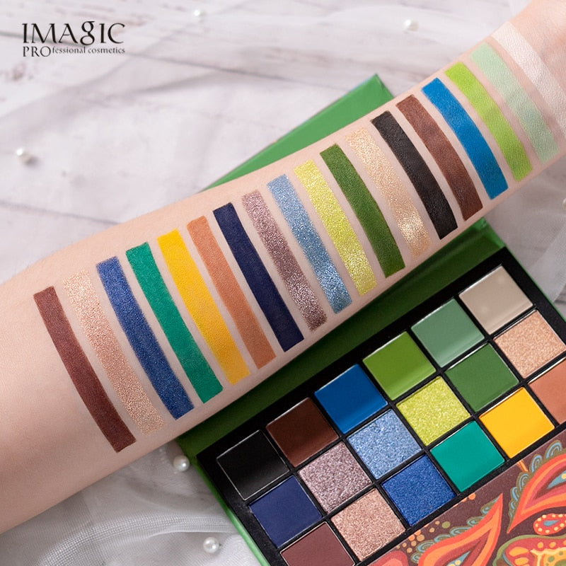 36 Colors Matte Shimmer Pearlescent Rainbow Holy Grail Palette Eyeshadow