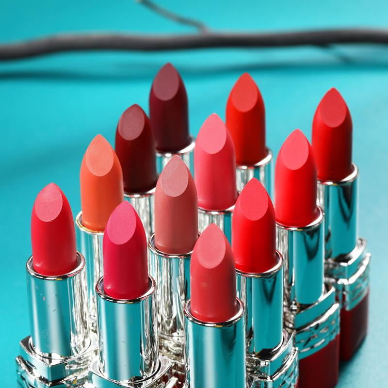 12 Colors Matte Lipsticks Waterproof Matte Velvet Lipstick