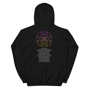 The Sri Yantra Message Hoodie