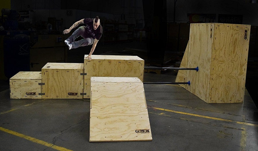 Load image into Gallery viewer, Parkour T2 Triangle Training Box - Gibson Athletic