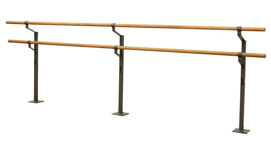 Gibson Non-Adjustable Double Ballet Barre - Gibson Athletic