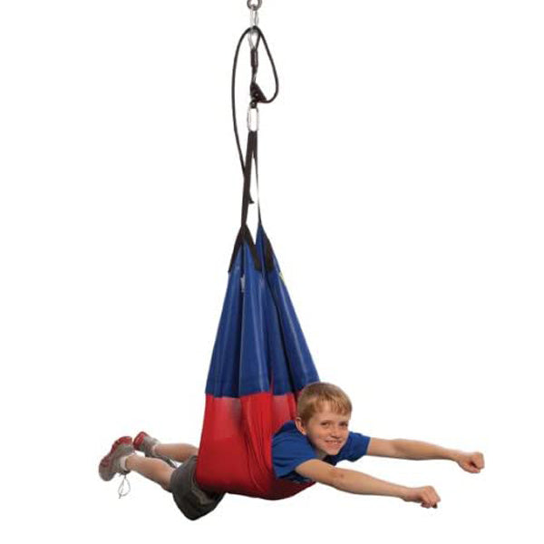 Moving Mountains Sling Swing, Red/Blue